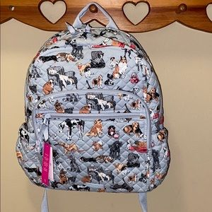 Vera Bradley best in show campus backpack! NWT